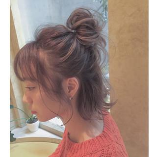謝恩会 ヘアアレンジ ガーリー こなれ感 ヘアスタイルや髪型の写真・画像