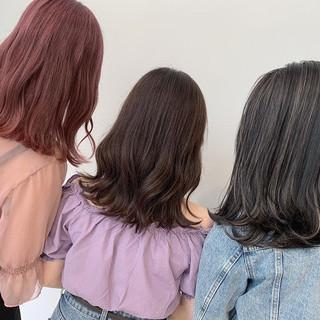 切りっぱなしボブ モテ髪 ショートヘア 簡単ヘアアレンジ ヘアスタイルや髪型の写真・画像
