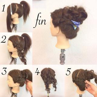 簡単ヘアアレンジ ヘアアレンジ ショート 大人女子 ヘアスタイルや髪型の写真・画像