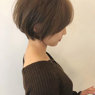 ショートボブ ハンサムショート ショート ショートヘア ヘアスタイルや髪型の写真・画像