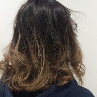 ハイライト 大人かわいい ボブ ストリート ヘアスタイルや髪型の写真・画像