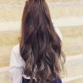 ガーリー 渋谷系 外国人風 ハイライト ヘアスタイルや髪型の写真・画像