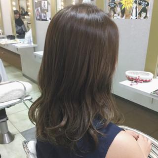 秋 ウェーブ アンニュイ ナチュラル ヘアスタイルや髪型の写真・画像