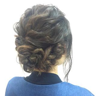 結婚式 ヘアアレンジ ショート ナチュラル ヘアスタイルや髪型の写真・画像