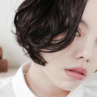 ボブ ストリート 外国人風 モード ヘアスタイルや髪型の写真・画像