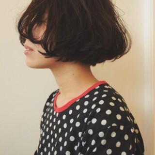 ハイライト 外国人風 グラデーションカラー ボブ ヘアスタイルや髪型の写真・画像