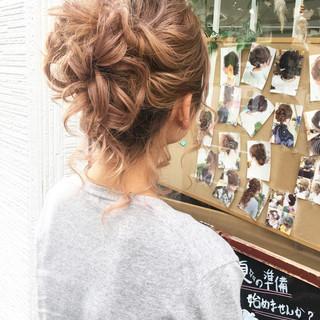 成人式 結婚式 デート ナチュラル ヘアスタイルや髪型の写真・画像