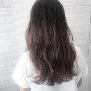 アンニュイ ロング リラックス ストリート ヘアスタイルや髪型の写真・画像