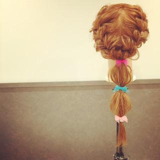 ロング ゆるふわ ショート 簡単ヘアアレンジ ヘアスタイルや髪型の写真・画像