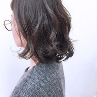 こなれ感 ナチュラル ボブ グラデーションカラー ヘアスタイルや髪型の写真・画像