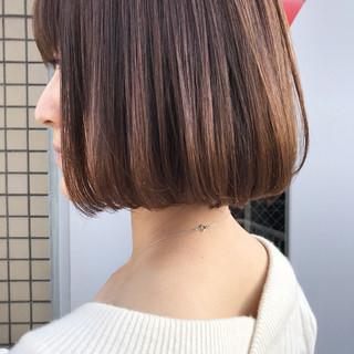 ロブ 色気 大人女子 ボブ ヘアスタイルや髪型の写真・画像