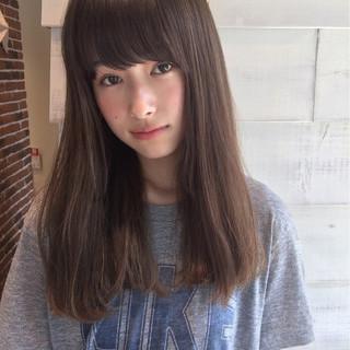 リラックス ヘアアレンジ ナチュラル ロング ヘアスタイルや髪型の写真・画像