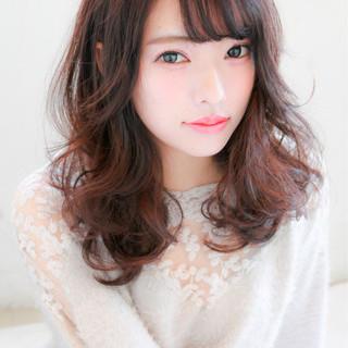 小顔 ガーリー 大人女子 モテ髪 ヘアスタイルや髪型の写真・画像