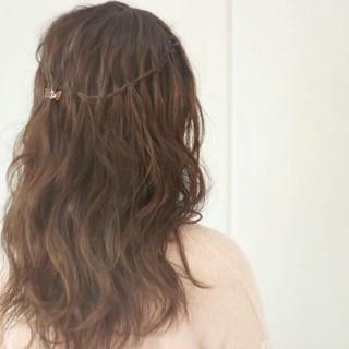 ヘアアレンジ ロング 外国人風 上品 ヘアスタイルや髪型の写真・画像