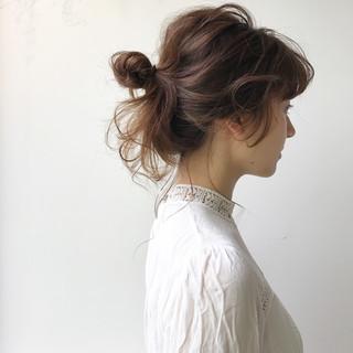 ヘアアレンジ 結婚式 涼しげ デート ヘアスタイルや髪型の写真・画像