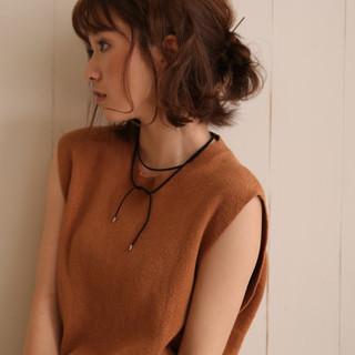 ゆるふわ ヘアアレンジ 簡単ヘアアレンジ ストリート ヘアスタイルや髪型の写真・画像