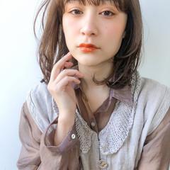 ウルフカット デジタルパーマ 透明感カラー ゆるふわパーマ ヘアスタイルや髪型の写真・画像