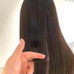 髪質改善カラー 髪質改善 髪質改善トリートメント ロング ヘアスタイルや髪型の写真・画像