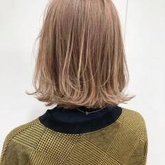 透明感 ブリーチ フェミニン ブリーチオンカラー ヘアスタイルや髪型の写真・画像