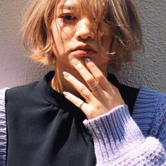 ショート ショートボブ 透明感 透明感カラー ヘアスタイルや髪型の写真・画像