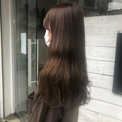 ブリーチ ミルクティーベージュ ヌーディベージュ インナーカラー ヘアスタイルや髪型の写真・画像