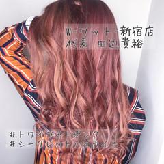 モード 外国人風カラー 透明感カラー デート ヘアスタイルや髪型の写真・画像