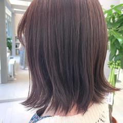 ガーリー ラベンダーカラー ピンクパープル ラベンダーグレー ヘアスタイルや髪型の写真・画像