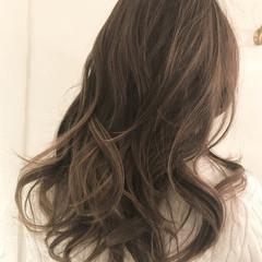 大人ハイライト 外国人風カラー ナチュラル ロング ヘアスタイルや髪型の写真・画像