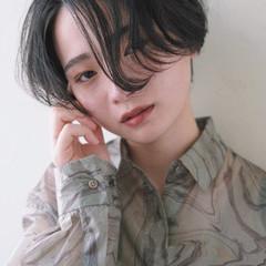 ショート ナチュラル ショートヘア ウルフカット ヘアスタイルや髪型の写真・画像