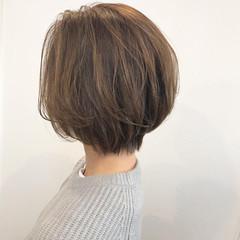 大人グラボブ 大人ヘアスタイル 大人女子 ショートボブ ヘアスタイルや髪型の写真・画像