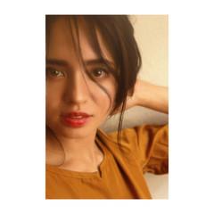 アンニュイほつれヘア ロング デジタルパーマ イルミナカラー ヘアスタイルや髪型の写真・画像