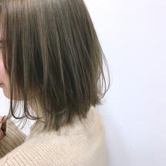 アンニュイほつれヘア デート ボブ 外ハネ ヘアスタイルや髪型の写真・画像