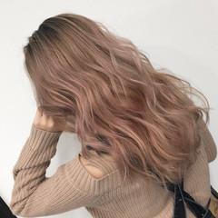 外国人風カラー ストリート ロング バレイヤージュ ヘアスタイルや髪型の写真・画像