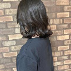 ナチュラル アディクシーカラー 艶髪 ボブ ヘアスタイルや髪型の写真・画像