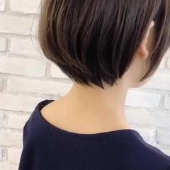 大人女子 似合わせ エフォートレス ショート ヘアスタイルや髪型の写真・画像