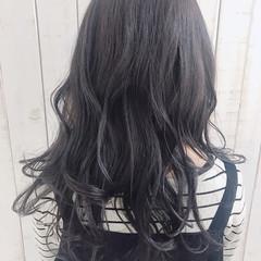 ダークグレー グレージュ 外国人風カラー グラデーションカラー ヘアスタイルや髪型の写真・画像