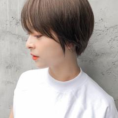 大人ショート ナチュラル ショート ショートヘア ヘアスタイルや髪型の写真・画像