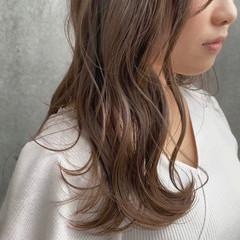 レイヤーカット ナチュラル ヘアアレンジ ブリーチなし ヘアスタイルや髪型の写真・画像