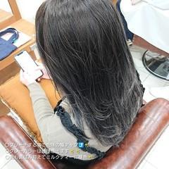 ハイライト 外国人風カラー ロング 極細ハイライト ヘアスタイルや髪型の写真・画像