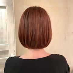 ミニボブ ショートヘア ナチュラル タンバルモリ ヘアスタイルや髪型の写真・画像