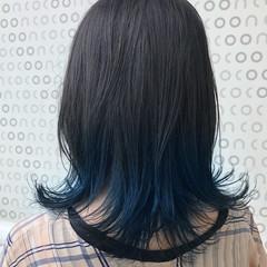 ブルー ストリート ミディアム スポーツ ヘアスタイルや髪型の写真・画像