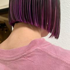 ショートヘア モード 切りっぱなしボブ ボブ ヘアスタイルや髪型の写真・画像