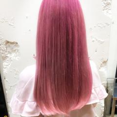 ハイトーン ブリーチ ブリーチカラー ロング ヘアスタイルや髪型の写真・画像