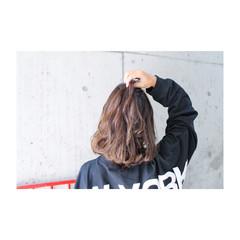 グレージュ 外国人風 外国人風カラー アッシュ ヘアスタイルや髪型の写真・画像