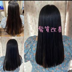 髪質改善 エレガント 縮毛矯正 脱縮毛矯正 ヘアスタイルや髪型の写真・画像