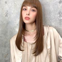 ナチュラル 大人かわいい 髪質改善トリートメント ロング ヘアスタイルや髪型の写真・画像