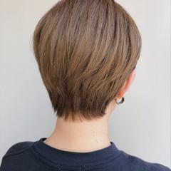 ハイトーン ベリーショート ハイトーンボブ ハイトーンカラー ヘアスタイルや髪型の写真・画像