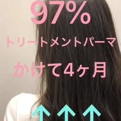ロング ダメージレス 外国人風カラー エレガント ヘアスタイルや髪型の写真・画像