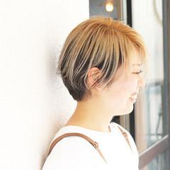 ストリート ショートボブ ショート ベリーショート ヘアスタイルや髪型の写真・画像