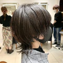マッシュウルフ ストリート ネオウルフ ウルフカット ヘアスタイルや髪型の写真・画像